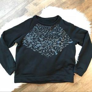 Lululemon snapshot crew black pullover sweatshirt